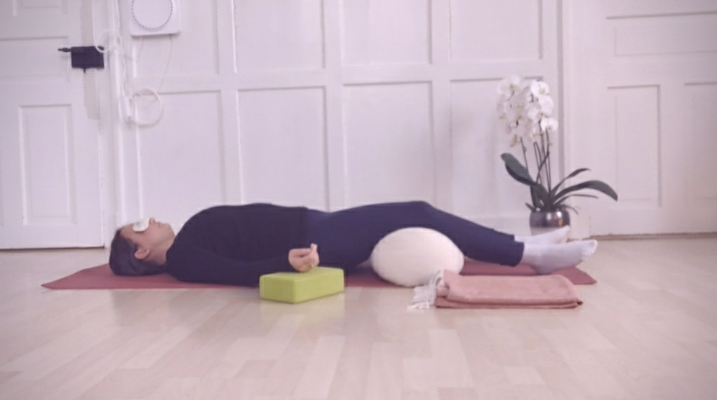 restorative yoga at home