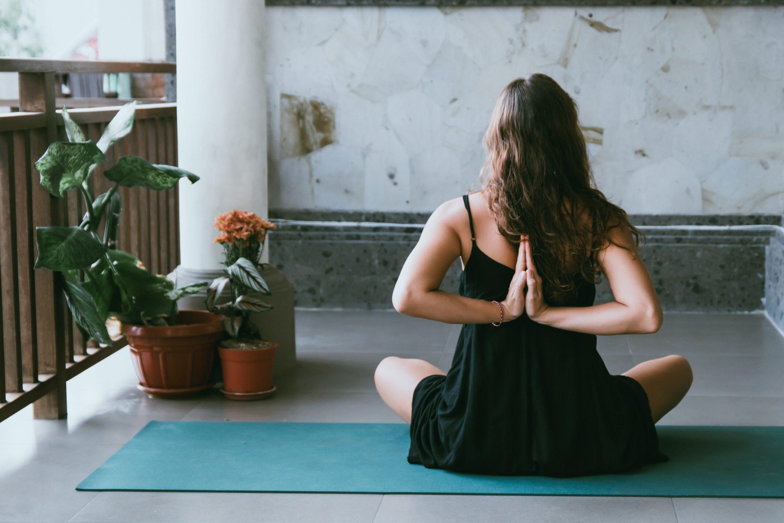 60' online private yoga