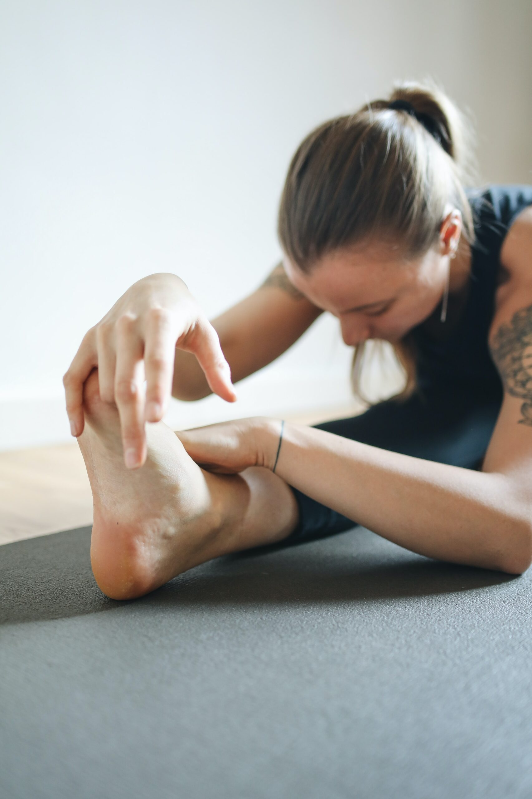 The function of Forward Bends in Yoga