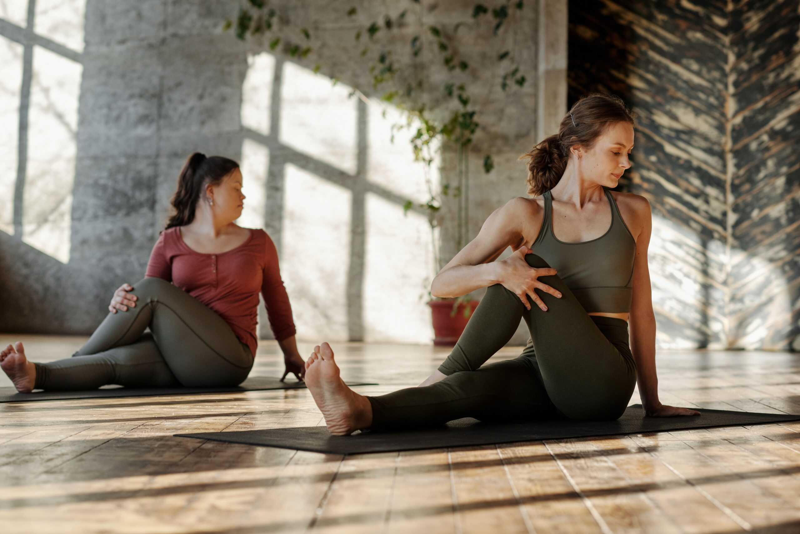 The function of Twists in Yoga